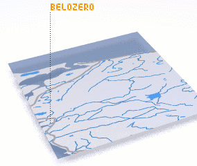 3d view of Belozero