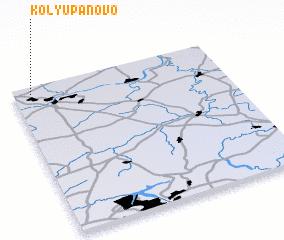 3d view of Kolyupanovo