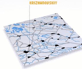 3d view of Krizhanovskiy