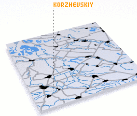 3d view of Korzhevskiy
