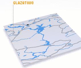 3d view of Glazatovo