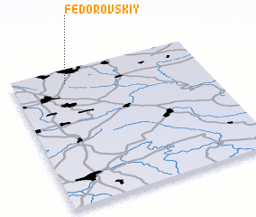 3d view of Fëdorovskiy