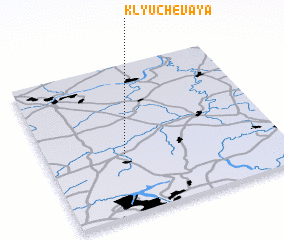 3d view of Klyuchevaya