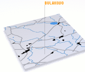 3d view of Bulakovo