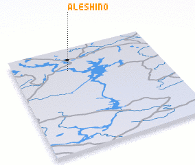 3d view of Alëshino