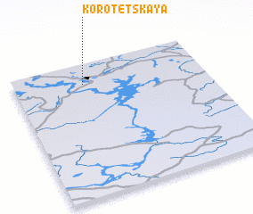 3d view of Korotetskaya