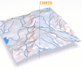 3d view of Ciorso