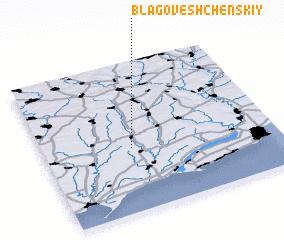 3d view of Blagoveshchenskiy