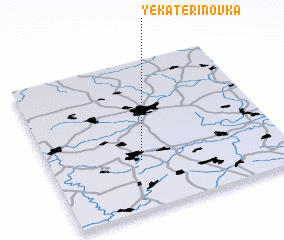 3d view of Yekaterinovka