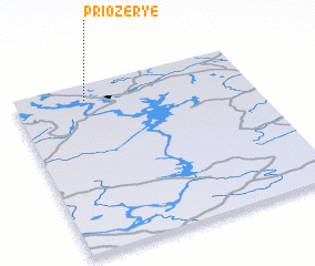 3d view of Priozer\