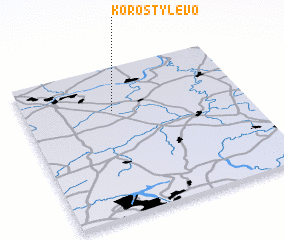 3d view of Korostylevo