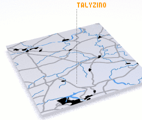 3d view of Talyzino