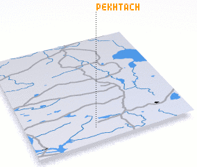 3d view of Pekhtach