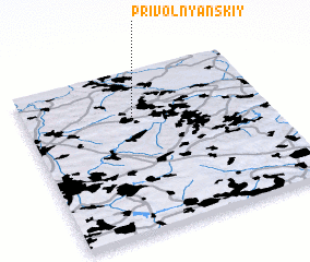 3d view of Privol'nyanskiy