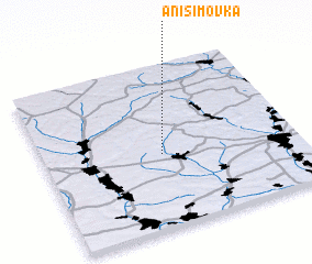 3d view of Anisimovka