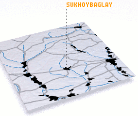 3d view of Sukhoy Baglay