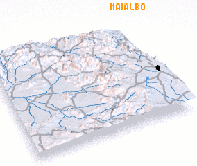 3d view of Mai Albo