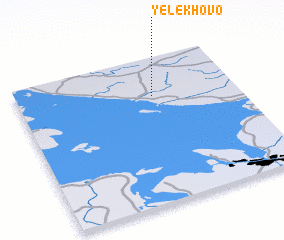 3d view of Yelekhovo