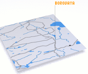 3d view of Borovaya