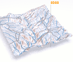 3d view of Āda'ā