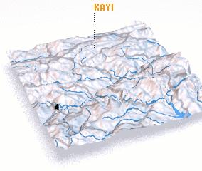 3d view of Kayı