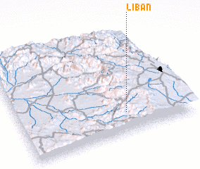 3d view of Liban