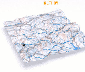 3d view of Altköy