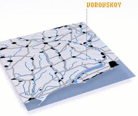 3d view of Vorovskoy