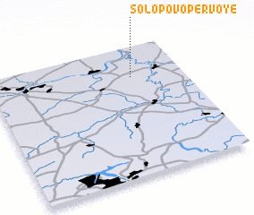 3d view of Solopovo Pervoye