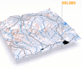 3d view of Kolobo