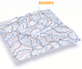 3d view of Ādī K'ano