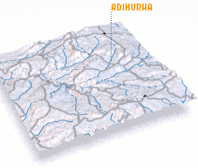 3d view of Ādī Hurwa
