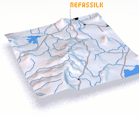 3d view of Nefas Silk