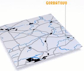 3d view of Gorbatovo