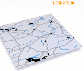 3d view of Loshatovo