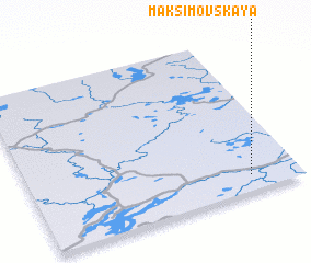 3d view of Maksimovskaya