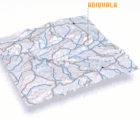 3d view of Ādī-Quala