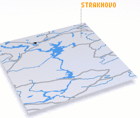 3d view of Strakhovo