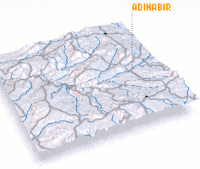 3d view of Ādī Hābir