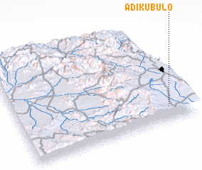 3d view of Ādī Kubulo