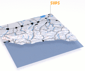 3d view of Sups