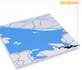 3d view of Nazarovo