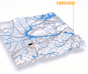 3d view of Canuşağı