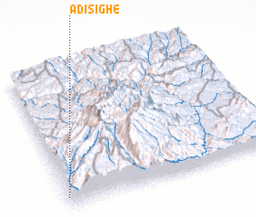 3d view of Adi Sighe