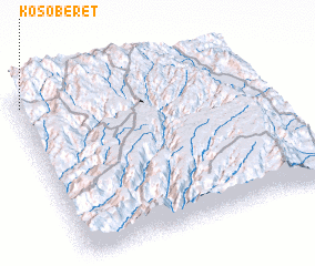 3d view of Koso Beret
