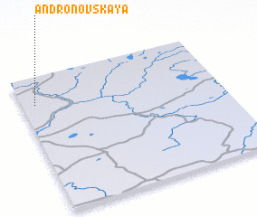 3d view of Andronovskaya