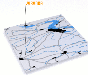 3d view of Voronka