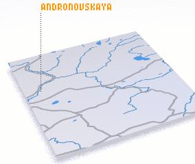 3d view of Andronovskaya