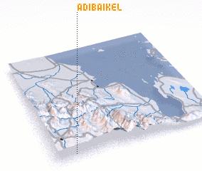 3d view of Ādība'ikel