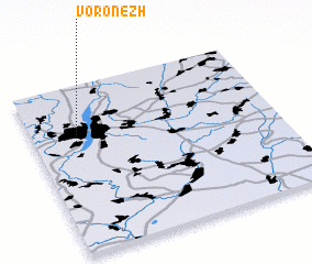 3d view of Voronezh